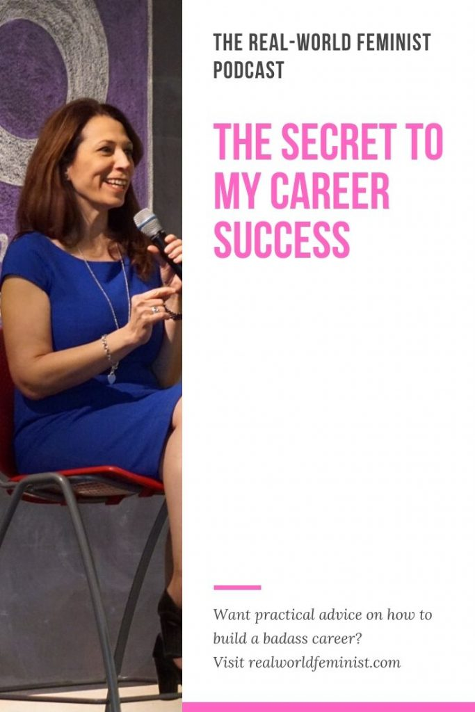 Episode #24: The Secret to My Career Success