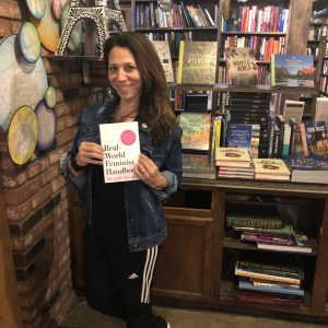 Author Michelle Kinsman at The Last Bookstore in Los Angeles